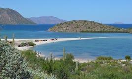 Requison in Conception Bay, Baja California, Mexico. Requison beach in Conception Bay, Baja California, Mexico Stock Photos