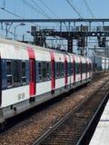 RER pociąg fotografia royalty free
