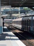 RER pociąg zdjęcia royalty free