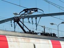 RER pociąg Zdjęcie Stock