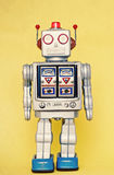 Rerto robot toy Royalty Free Stock Photography