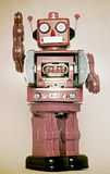 Rerto robot toy Royalty Free Stock Image