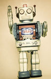 Rerto robot toy Stock Photography