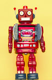 Rerto robot toy Stock Image