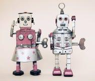 Rerto robot toy Royalty Free Stock Photo