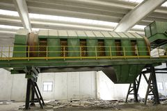 Resíduos sólidos urbanos abandonados Fotos de Stock Royalty Free