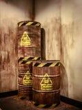 Resíduos tóxicos Imagens de Stock Royalty Free