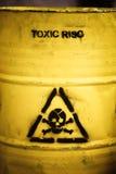 Resíduos tóxicos Imagem de Stock Royalty Free