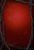 res barbed kabel cześć Fotografia Stock