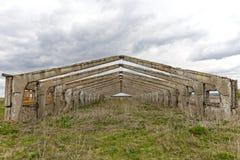 Res muerta abandonada vieja del edificio Imagen de archivo libre de regalías