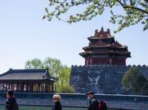 Resa i Peking, Kina Fotografering för Bildbyråer