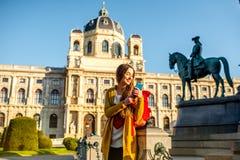 Resa i Wien arkivfoton