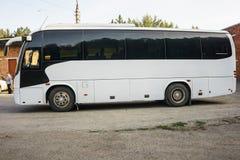 Resa med bussen royaltyfri foto