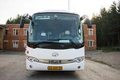Resa med bussen royaltyfri fotografi