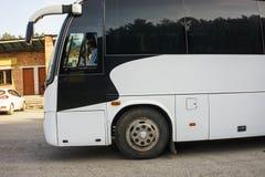 Resa med bussen royaltyfri bild