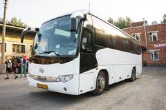 Resa med bussen royaltyfria foton