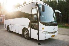 Resa med bussen arkivbilder