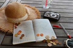Resa på budget royaltyfri bild