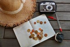 Resa på budget arkivbilder