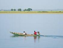 Resa på den Kaladan floden Royaltyfri Bild