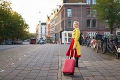 Resa till Amsterdam Royaltyfri Foto