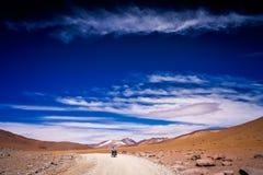 Resa till och med Altiplano Royaltyfri Bild