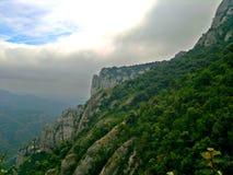 resa till och med Spanien Arkivfoto