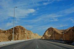 Resa till röd sand Fotografering för Bildbyråer