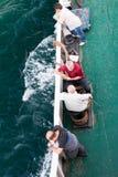 Resa vid ferryboaten Arkivfoton