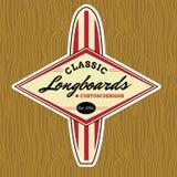 Resaca clásica Logo Design Fotografía de archivo