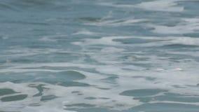 Resaca del Mar Negro, Bulgaria almacen de metraje de vídeo