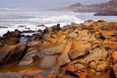 Resaca del océano Fotografía de archivo