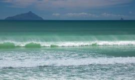Resaca del océano Foto de archivo libre de regalías