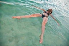 Resaca en el mar muerto Imagen de archivo libre de regalías