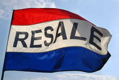 Resale Flag Royalty Free Stock Photos