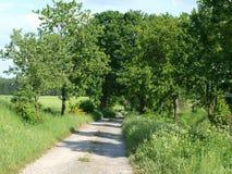 Resan landskap av södra Bohemia Arkivbilder