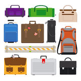 Resande bagagesymboler Royaltyfri Bild
