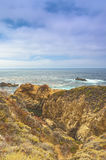 Resande begrepp Fascinerande sikt av den Stillahavs- kustlinjen Royaltyfria Bilder