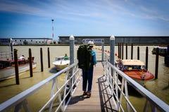Resande i Venedig, Italien arkivbilder