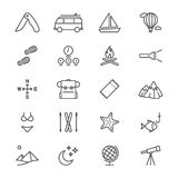 Resande tunna symboler Royaltyfri Foto