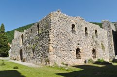 Resava school in monastery Manasija, 15th century, Serbia. Manasija  is a Serbian Orthodox monastery near Despotovac, Serbia, founded by Despot Stefan Lazarevi Royalty Free Stock Image