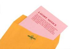 Resbalón rosado Fotos de archivo libres de regalías