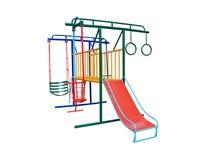 Resbalador colorido para el niño Foto de archivo libre de regalías