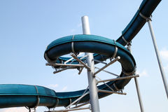 Resbalador de la piscina Imagen de archivo
