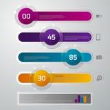 Resbalador del vidrio del infographics del ejemplo del vector Libre Illustration