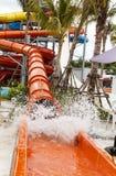 Resbaladores del agua Foto de archivo