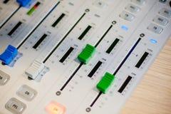 Resbaladores del mezclador Fotografía de archivo libre de regalías