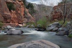 Resbale el parque de estado de la roca Fotografía de archivo