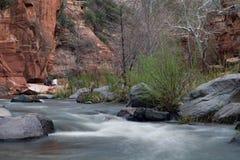 Resbale el parque de estado de la roca Imagen de archivo libre de regalías