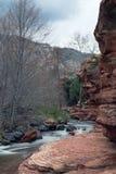 Resbale el parque de estado de la roca Imagen de archivo